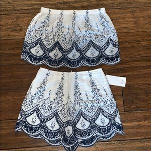 Matching set, top & shorts